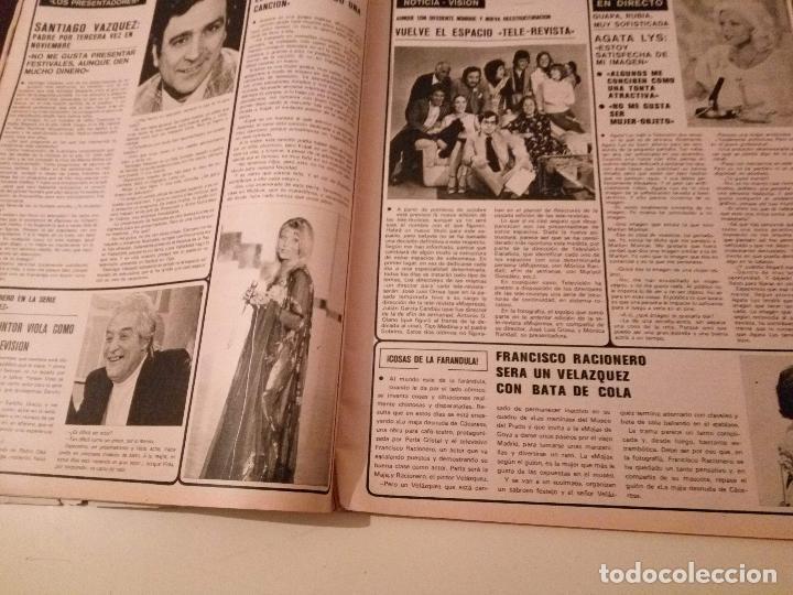 Coleccionismo de Revistas y Periódicos: SEMANA Nº 1855 1975 RAPHAEL EL CORDOBES EMMA OZORES MIGUEL BOSE AMPARO MUÑOZ ROCIO JURADO GOYANES - Foto 12 - 72240595