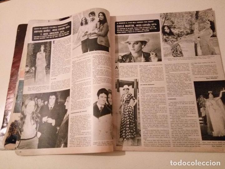 Coleccionismo de Revistas y Periódicos: SEMANA Nº 1855 1975 RAPHAEL EL CORDOBES EMMA OZORES MIGUEL BOSE AMPARO MUÑOZ ROCIO JURADO GOYANES - Foto 15 - 72240595