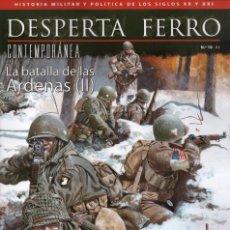 Coleccionismo de Revistas y Periódicos: DESPERTA FERRO CONTEMPORANEA N. 19 - EN PORTADA: LA BATALLA DE LAS ARDENAS (II) (NUEVA). Lote 145508273