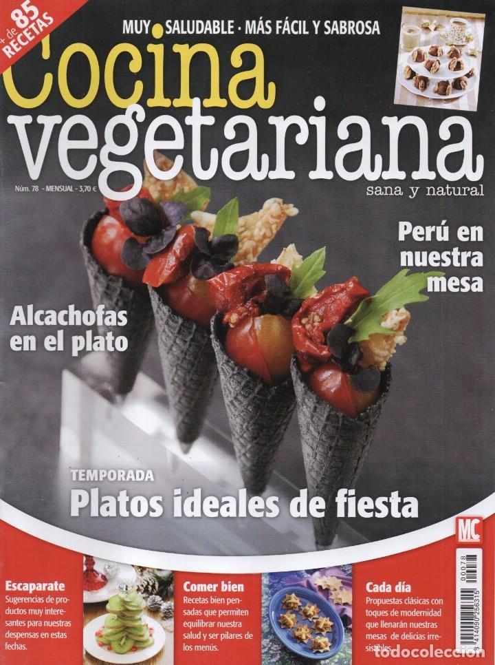 Cocina Vegetariana Revista | Cocina Vegetariana N 78 En Portada Platos I Comprar Otras