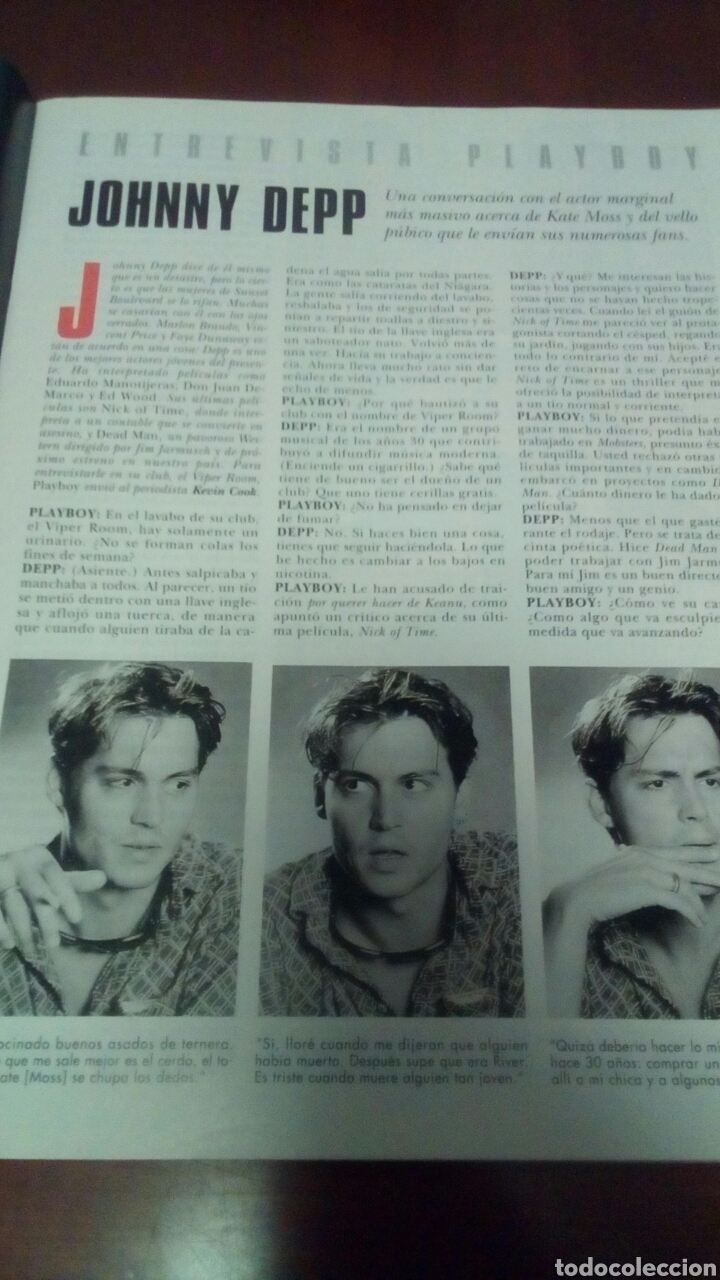 Coleccionismo de Revistas y Periódicos: Revista Playboy n'206 febrero 1996. - Foto 3 - 72386226