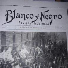 Coleccionismo de Revistas y Periódicos: REVISTA BLANCO Y NEGRO. Lote 72396318