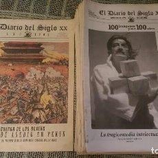 Coleccionismo de Revistas y Periódicos: EL DIARIO DEL SIGLO XX. Lote 72690315