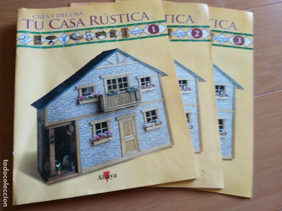 Crea y decora tu casa rustica altaya solo es comprar for Crea tu casa