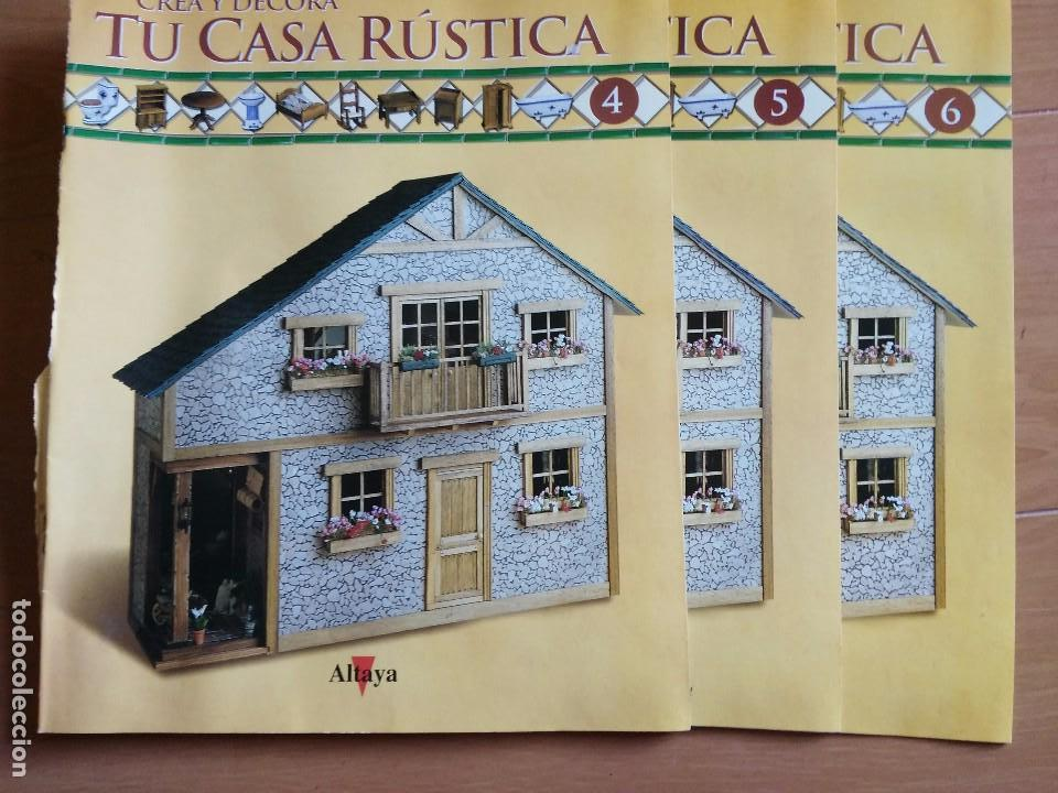 Crea y decora tu casa rustica altaya solo es comprar - Crea tu casa ...