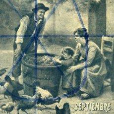 Coleccionismo de Revistas y Periódicos: VENDIMIA 1915 ILUSTRACION HOJA REVISTA. Lote 72857055