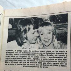 Coleccionismo de Revistas y Periódicos: ABBA RAPHAEL MASSIEL SERRAT ROCÍO JURADO TINO CASAL LOLA FLORES MIGUEL BOSÉ. Lote 72862750