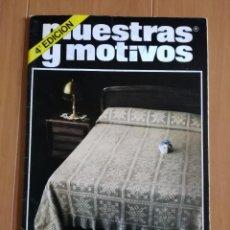 Coleccionismo de Revistas y Periódicos: MUESTRAS Y MOTIVOS, GANCHILLO N°3 - 4°EDICION, AÑO 1981 . Lote 72883443