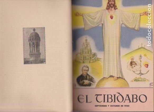 Coleccionismo de Revistas y Periódicos: EL TIBIDABO - 1950 - 1951 - 1952 - 1953 - AÑOS COMPLETOS / ILUSTRADOS - Foto 3 - 72907971