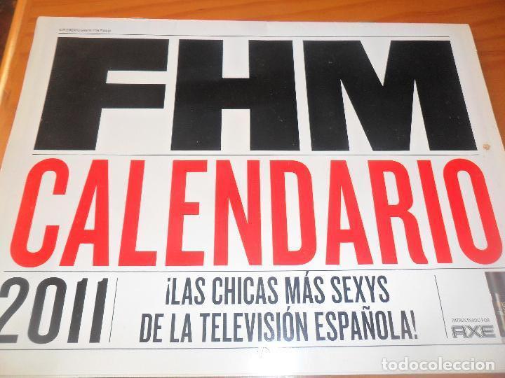 Calendario 2011 Espana.Fhm Calendario 2011 Las Chicas Mas Sexys De La Television Espanola