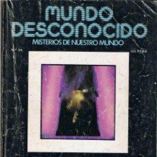 Coleccionismo de Revistas y Periódicos: REVISTA MUNDO DESCONOCIDO Nº 34. ABRIL 1979. Lote 73068535
