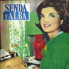 Coleccionismo de Revistas y Periódicos: ANTIGUA REVISTA *SENDA Y ALBA* -ENERO 1961-. Lote 73081787
