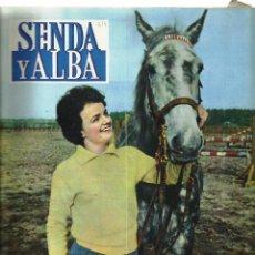 Coleccionismo de Revistas y Periódicos: ANTIGUA REVISTA *SENDA Y ALBA* -MAYO DE 1961- MADRID, CASTILLO FAMOSO.. Lote 73179383