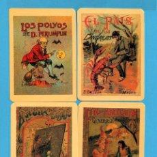 Coleccionismo de Revistas y Periódicos: SERIE 18 CALENDARIOS ASOCIACIÓN DE COLECCIONISTAS DE AVILÉS CUENTOS DE S. CALLEJAS DEL AÑO 2002. Lote 73403147