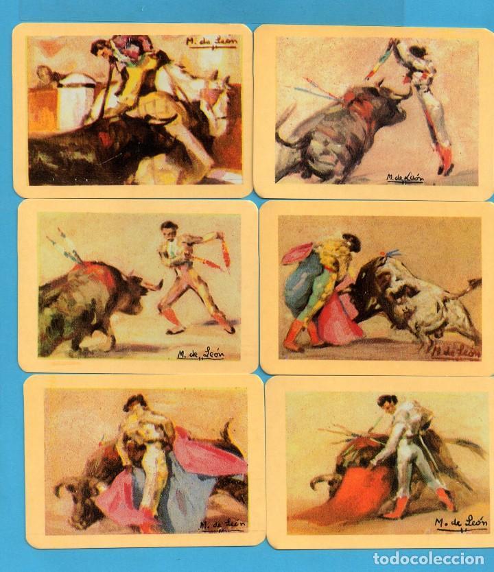 Coleccionismo de Revistas y Periódicos: Serie 24 Calendarios Asociación de coleccionistas de Avilés Dibujos Taurinos de M León del Año 2002 - Foto 2 - 73410591