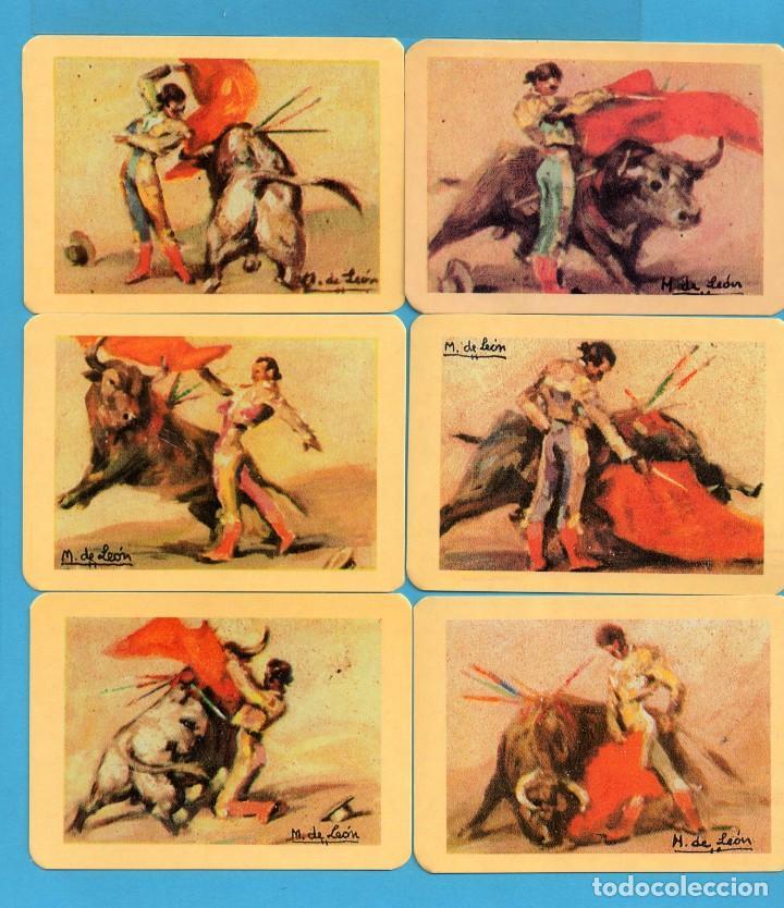 Coleccionismo de Revistas y Periódicos: Serie 24 Calendarios Asociación de coleccionistas de Avilés Dibujos Taurinos de M León del Año 2002 - Foto 3 - 73410591
