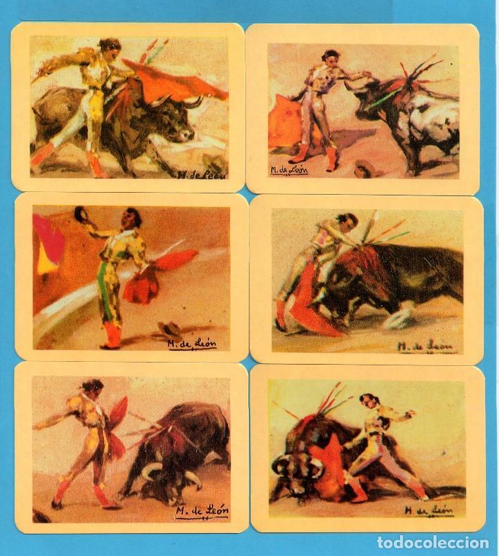 Coleccionismo de Revistas y Periódicos: Serie 24 Calendarios Asociación de coleccionistas de Avilés Dibujos Taurinos de M León del Año 2002 - Foto 4 - 73410591