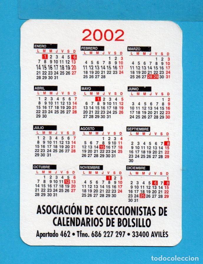 Coleccionismo de Revistas y Periódicos: Serie 24 Calendarios Asociación de coleccionistas de Avilés Dibujos Taurinos de M León del Año 2002 - Foto 5 - 73410591