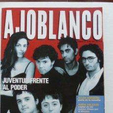 Coleccionismo de Revistas y Periódicos: REVISTA AJOBLANCO NUMERO 33 MAYO 1991 - VUELVE LA CONTESTACION . Lote 73561751