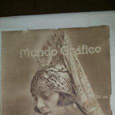 Coleccionismo de Revistas y Periódicos: MUNDO GRAFICO - 1923. Lote 73585559