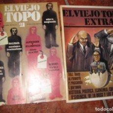Coleccionismo de Revistas y Periódicos: 2 REVISTA EL VIEJO TOPO . EXTRA 2 URSS REV RUSA .Nº 21 - 1978 MARXISMO NIETZSCHE BRECHT . Lote 73605919