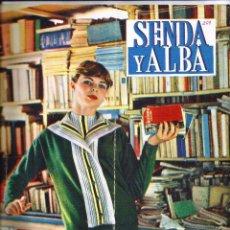 Coleccionismo de Revistas y Periódicos: ANTIGUA REVISTA *SENDA Y ALBA* -ABRIL DE 1960- HISTORIA DE UNA MONJA.. Lote 73618763
