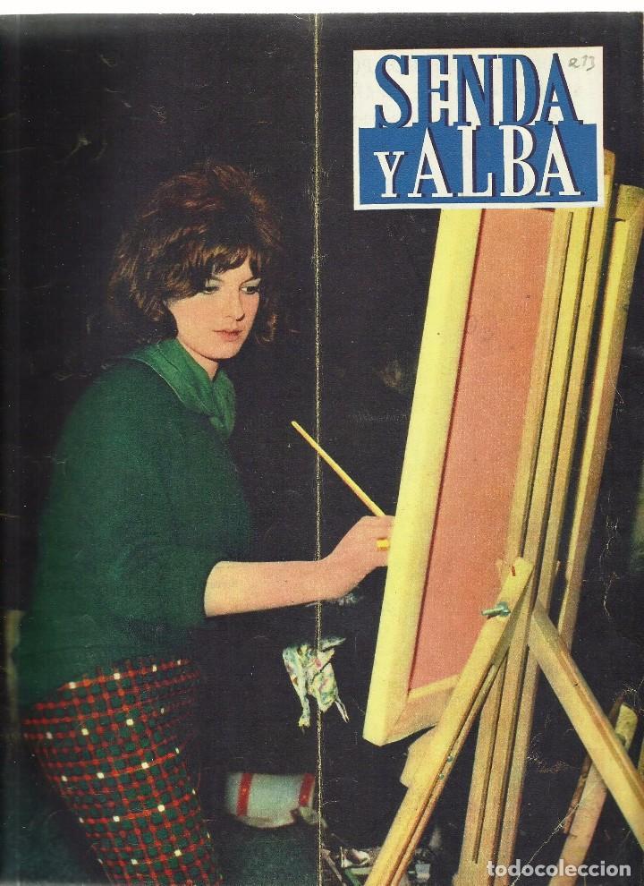 ANTIGUA REVISTA *SENDA Y ALBA* -ABRIL DE 1961- OBREROS ESPAÑOLES EN ALEMANIA. (Coleccionismo - Revistas y Periódicos Modernos (a partir de 1.940) - Otros)