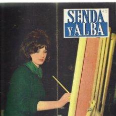 Coleccionismo de Revistas y Periódicos: ANTIGUA REVISTA *SENDA Y ALBA* -ABRIL DE 1961- OBREROS ESPAÑOLES EN ALEMANIA.. Lote 73620223