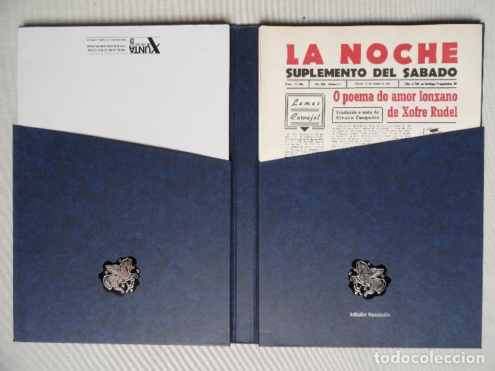 Coleccionismo de Revistas y Periódicos: LA NOCHE Suplemento del sabado, facsímile en estuche - Foto 2 - 73821855