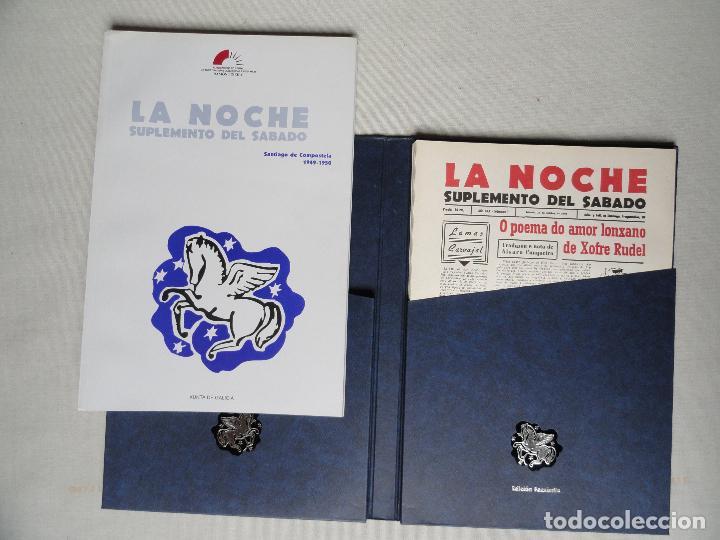 Coleccionismo de Revistas y Periódicos: LA NOCHE Suplemento del sabado, facsímile en estuche - Foto 3 - 73821855