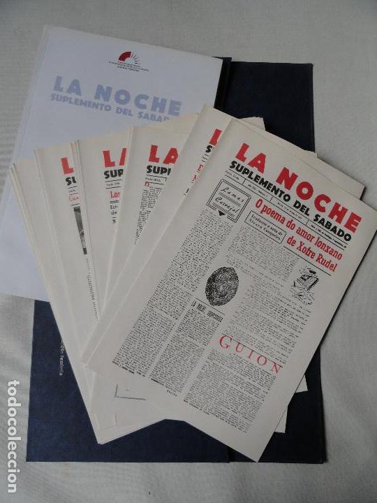 Coleccionismo de Revistas y Periódicos: LA NOCHE Suplemento del sabado, facsímile en estuche - Foto 5 - 73821855
