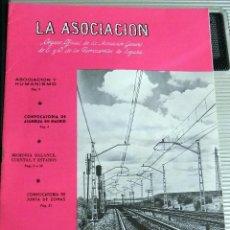 Coleccionismo de Revistas y Periódicos: LA ASOCIACIÓN. ORGANO OFICIAL DE LA ASOCIACIÓN GENERAL DE FERROCARRILES EN ESPAÑA. NUMERO 1512. 1969. Lote 73884415
