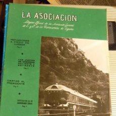 Coleccionismo de Revistas y Periódicos: LA ASOCIACIÓN. ORGANO OFICIAL DE LA ASOCIACIÓN GENERAL DE FERROCARRILES EN ESPAÑA. NUMERO 1511. 1969. Lote 73884619