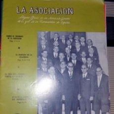 Coleccionismo de Revistas y Periódicos: LA ASOCIACIÓN. ORGANO OFICIAL DE LA ASOCIACIÓN GENERAL DE FERROCARRILES EN ESPAÑA. NUMERO 1510. 1968. Lote 73884815
