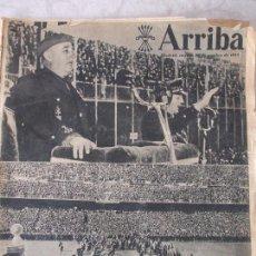 Coleccionismo de Revistas y Periódicos: PERIÓDICO ARRIBA - 1953. Lote 73885975