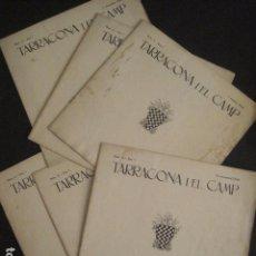 Coleccionismo de Revistas y Periódicos: 6 PRIMEROS NUMEROS -TARRAGONA I EL CAMP - TARRAGONA ANY 1934- VER FOTOS .- (V-8437). Lote 73939727