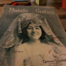 Coleccionismo de Revistas y Periódicos: MUNDO GRÁFICO N559 1922. Lote 73958507