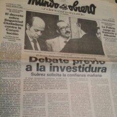 Coleccionismo de Revistas y Periódicos: MUNDO OBRERO MARZO 1979 N°111 PCE. Lote 73987159