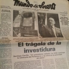 Coleccionismo de Revistas y Periódicos: MUNDO OBRERO N°113 MARZO 1979. Lote 73987334
