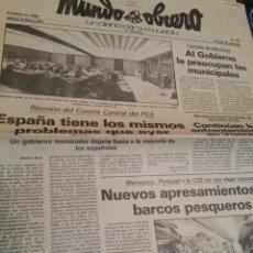 Coleccionismo de Revistas y Periódicos: MUNDO OBRERO MARZO 1979 N°95 PCE. Lote 73988330