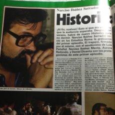 Coleccionismo de Revistas y Periódicos: IBÁÑEZ SERRADOR RAPHAEL SARA MONTIEL LOLA FLORES SERRAT CARMINA RAFFAELLA CARRA ROCÍO JURADO DÚRCAL. Lote 74074102