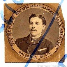 Coleccionismo de Revistas y Periódicos: BALCARCA 1880-1881 HUESCA ILDENFONSO CASTAÑEDA BORDAS ORLA MEDICINA MADRID RETAL. Lote 74092407