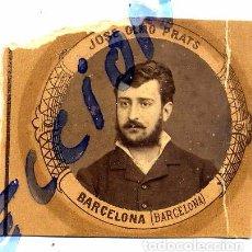 Coleccionismo de Revistas y Periódicos: JOSE OLMO PRATS BARCELONA 1880-1881 ORLA MEDICINA MADRID RETAL. Lote 74092735