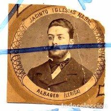 Coleccionismo de Revistas y Periódicos: JACINTO IGLESIAS NADAL ALBAGES LERIDA 1880-1881 ORLA MEDICINA MADRID RETAL. Lote 89533438