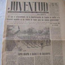 Coleccionismo de Revistas y Periódicos: SEMANARIO JUVENTUD . Lote 74179011
