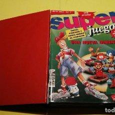 Coleccionismo de Revistas y Periódicos: REVISTAS VIDEO JUEGOS SUPERJUEGOS (1-10) + REGALO REVISTA NÚM.13. AÑOS 90. Lote 74179015