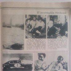 Coleccionismo de Revistas y Periódicos: RECORTE ALEX SOLER PUIG ALFRED HITCHCOCK. Lote 74222507