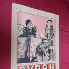 Coleccionismo de Revistas y Periódicos: BYRRH. HOJA PUBLICIDAD DE LA REVISTA L`ILLUSTRATION 1934. EN FRANCES.. Lote 74277799