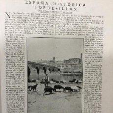 Coleccionismo de Revistas y Periódicos: TORDESILLAS .REVISTA AÑO 1920. Lote 74316623