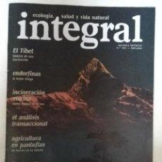 Collezionismo di Riviste e Giornali: REVISTA INTEGRAL Nº 101 TIBET. ADITIVOS ALIMENTICIOS. ANALISIS TRANSACCIONAL. GUATEMALA. MAYO DEL 68. Lote 74350571